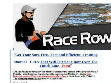 Sales Page for Race Row C.D. Instruction Manual