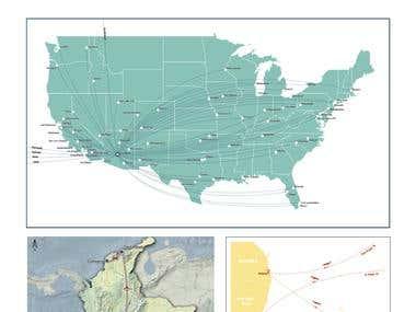 Travel maps