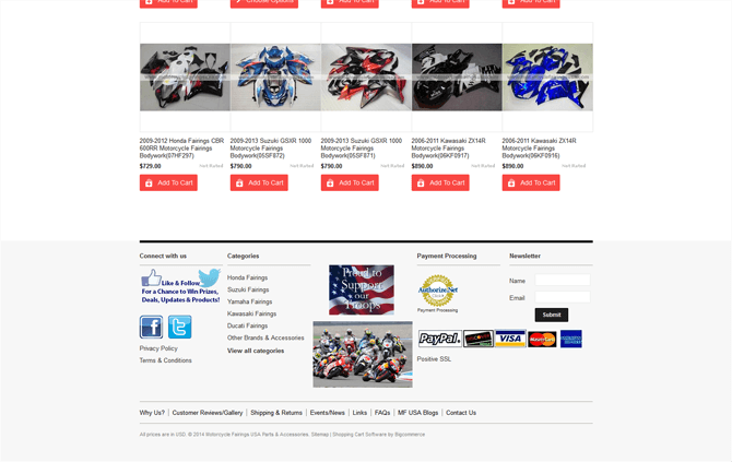 Motorcycle Fairings USA