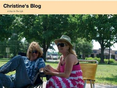 Set Up Blog