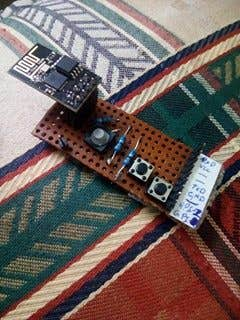 ESP8266 Gathering Data and Posting it on a Server
