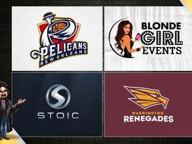 Recently designed logos 4
