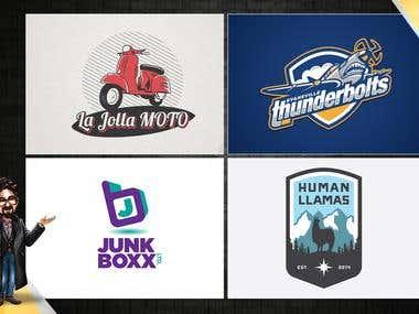Recently designed logos 2