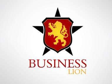 Business Lion Design