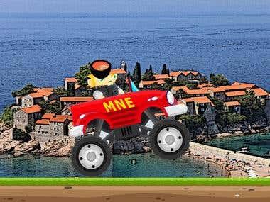 Truck Montenegro