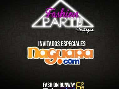 Publicidad Fashion Party