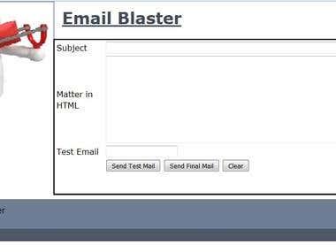 Email Blaster