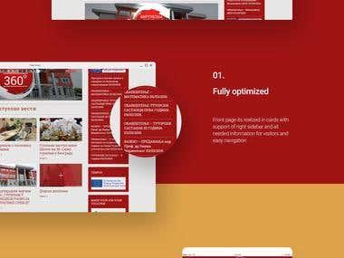 Web development project: Higher Business School