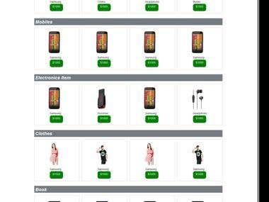 Online comparison Store