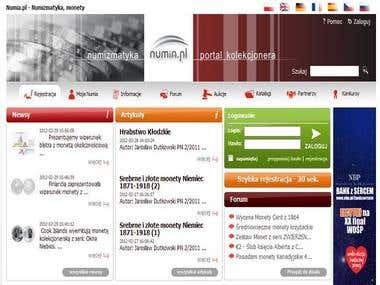 Numia.pl - web service