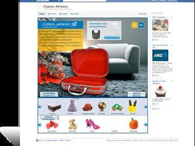 Cyprus Airways social app