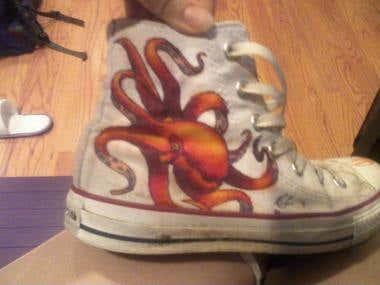 Octopus Hightops
