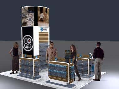 Booth , Event and Exhibition Design