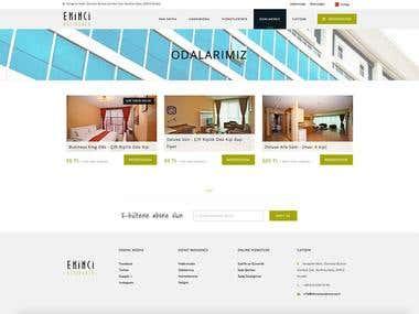 www.ekinciresidence.com - Official Web Site Design