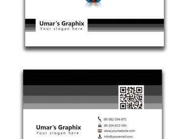 Back&White Business Card