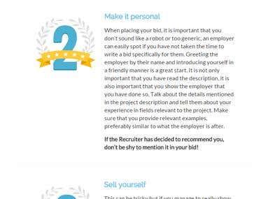 Custom Web Design for Freelancer.com