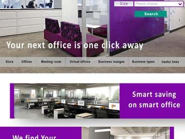 Office space search website