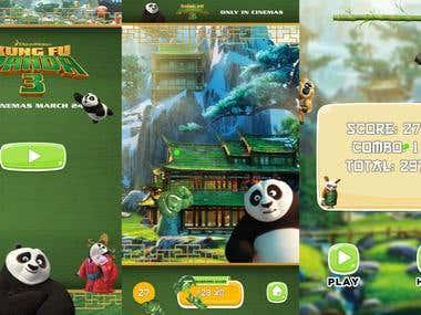 Kinect Game, Kung Fu Panda