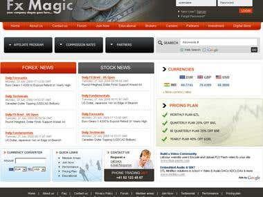 Forex Trading website