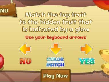 Flash Game-FruitCart