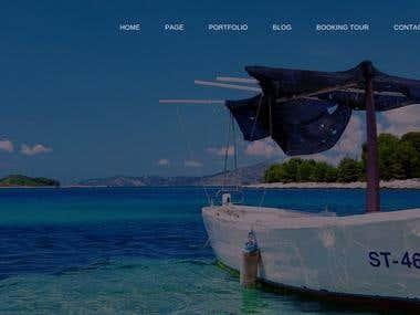 Booking Tour Website