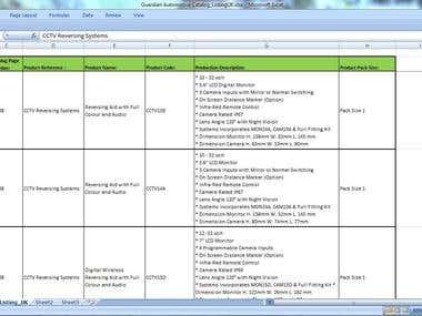 Online PDF to Excel Spreadsheet