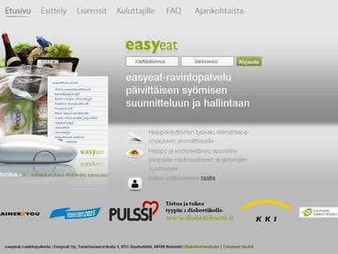 www.easyeat.fi (Web application)