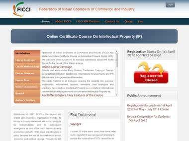 FICCI-Online Examination (Joomla)