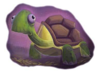night light turtle