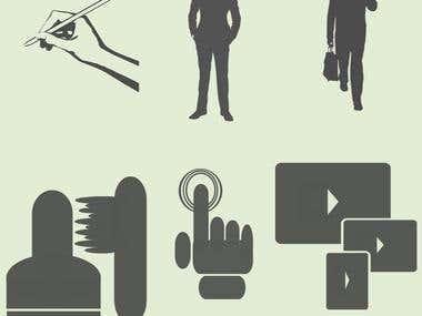 Clip art, logos, symbols, icons, other