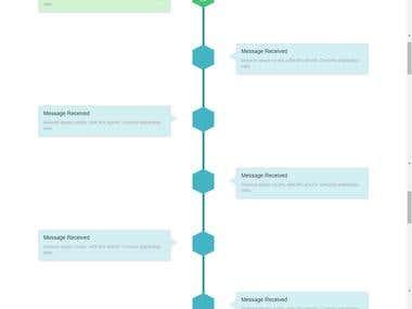Bootstrap TimeLine