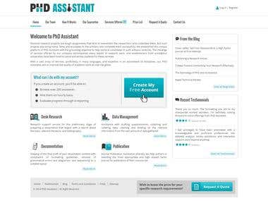 PHD Assistant