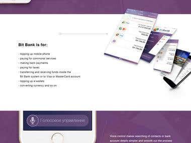 Mobile app - Bit Bank