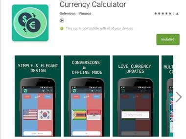 Currency Calculator - Android