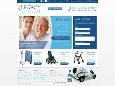 Legacy Oxygen - WordPress, HTML,CSS