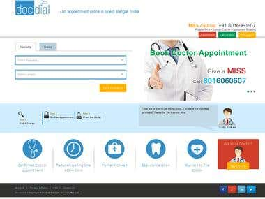 DocDial - Doctor Appointment Booking - (CakePHP, Bootstrap)