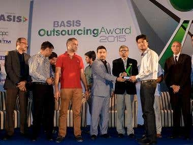 BASIS Outsouring Award Winner
