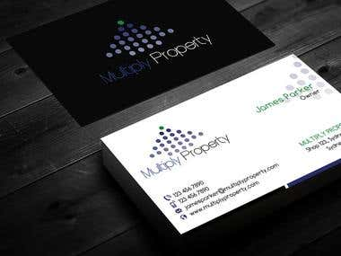 Multiply Property Business Cards and Letterhead