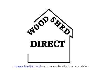 Wood Shed Direct Logo and Domain