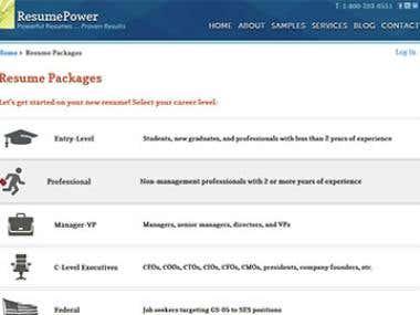 Resume Power