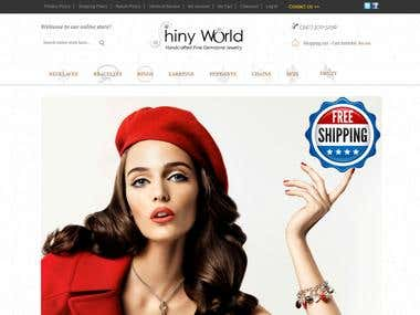 jewelry Selling website