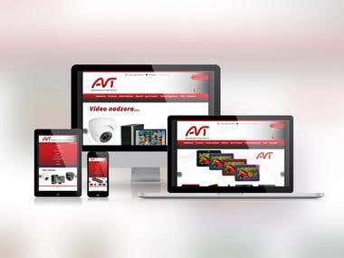 AVT Security Responsive Website