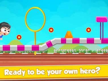 Game Development (American Gymnastic Girl)