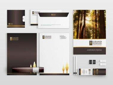 Grand Redwood Corporate Identity