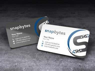Snapbytes Logo Design