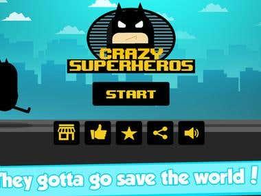 Game Development (Super Hero Fast Running Action)