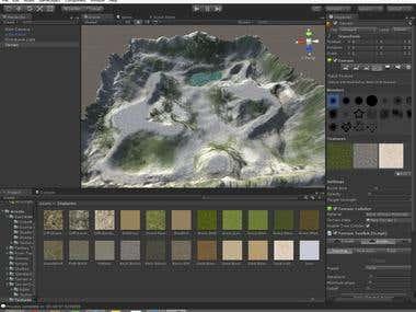 Landscape for unity 3d