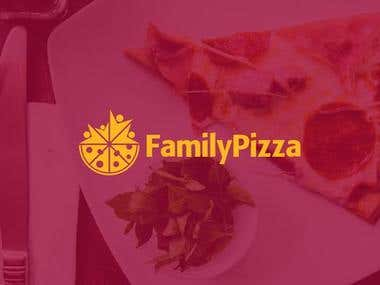 Logo for Family Pizza