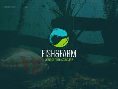 Logo for Fish and Farm Aquaculture Company