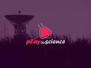 Logo for Play the Science